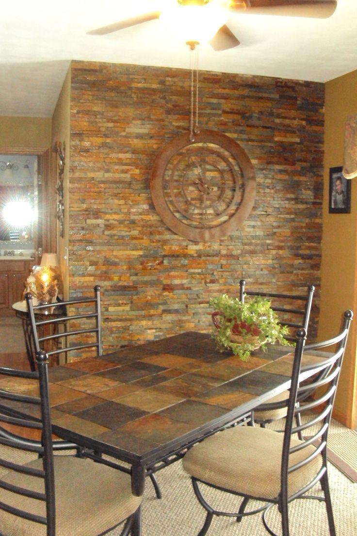 37 best rock tile and slate images on pinterest | home, bathroom