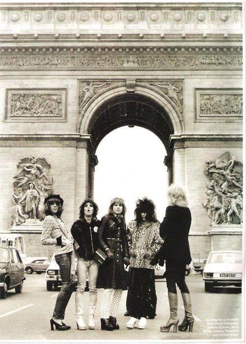 The New York Dolls, Paris 1973