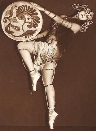 German dancer/actress Anita Berber, c. 1920