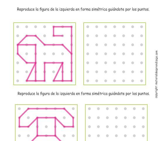 08 Trazos de simetría - Intermedio
