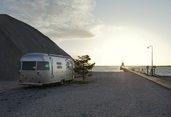 Hotel Fabriken Furillen sits on a remote islet off the Swedish island of Gotland