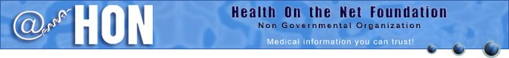 Health on the Net (HON) > homepage. HON accredits websites that have medical info. The HONcode helps you know the site is providing accurate health info.