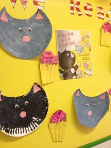If you give a cat a cupcake craft for preschoolers