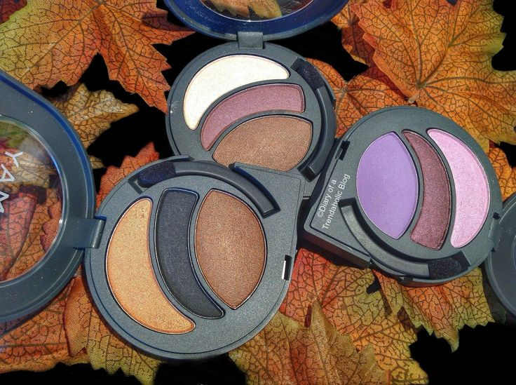NEW Almay Intense i-Color Eyeshadow palettes, perfect for fall!