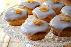 Pan d'arancio cupcake con glassa al liquore d'agrumi || orange cake | orange recipe