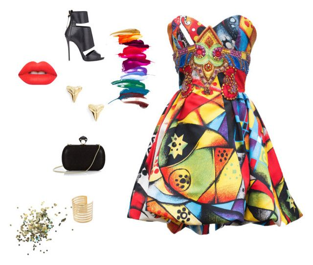 """""""METALLIC COLOUR"""" by caitymillner on Polyvore"""