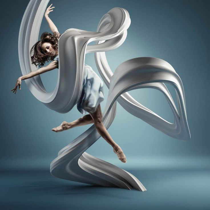 'Motion In Air' by Mike Campau - CGI Retouching from United States