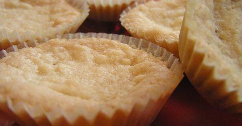 Bregottkakor i småbrödsformar.