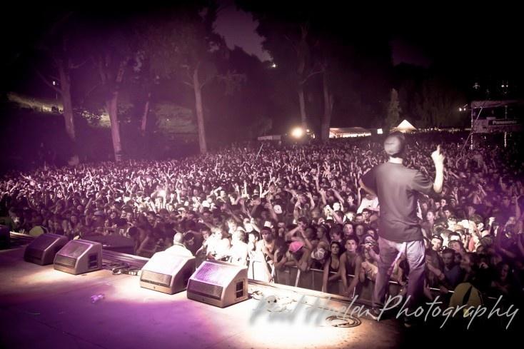 2010 - Chase & Status Rhythm stage.