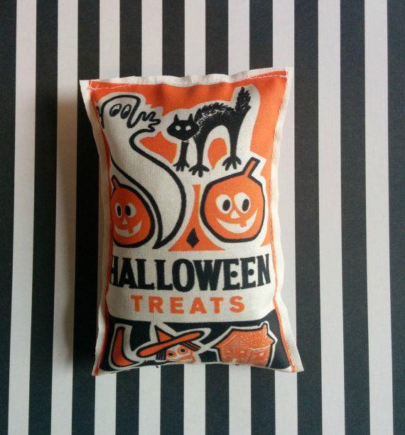 Vintage Halloween Trick or Treat Catnip Toy by GraveEndeavours