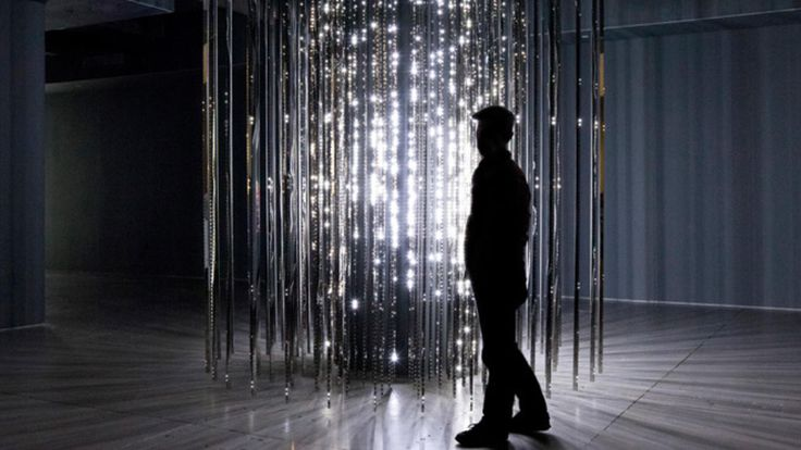 The Light Show exhibition at Hayward Gallery, London, brings together sculptures and artworks that use light in different ways.