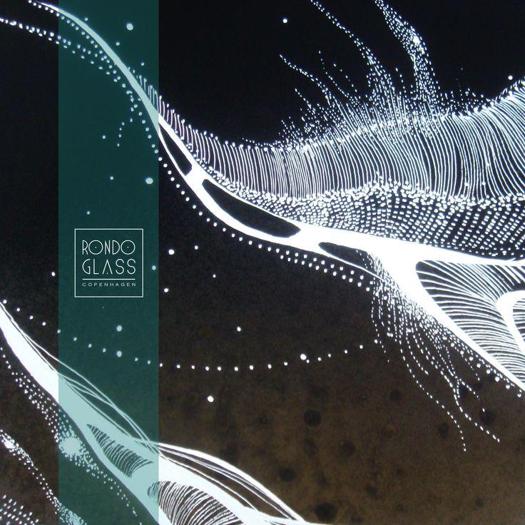 #glass, #design, #interior, #circle  m i c r o s p a c e  Glass pendant by RONDO CONCEPT http://www.rondo-concept.com/
