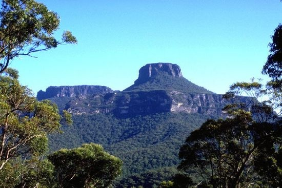Pigeon House Mountain, Morton National Park, New South Wales, Australia. Named by Captain James Cook on 21st April 1770.
