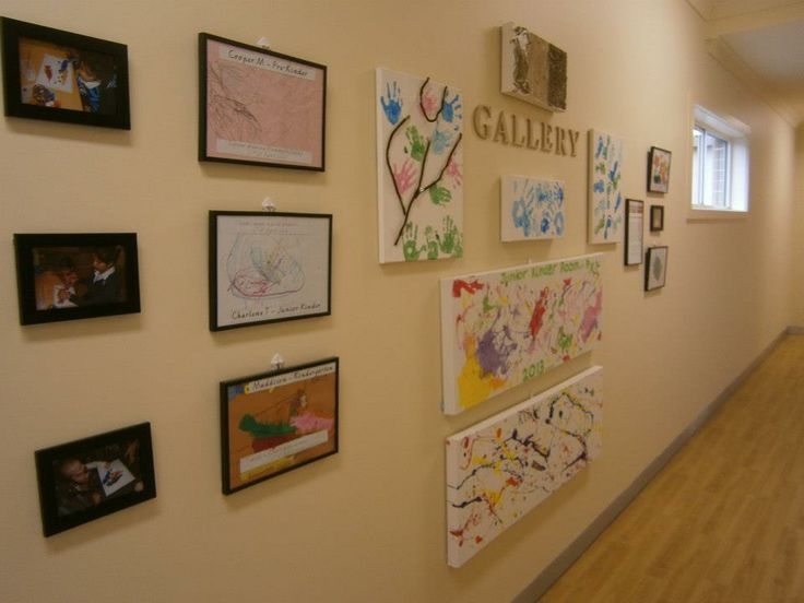 Our Centre art Gallery that is displayed in our hallway