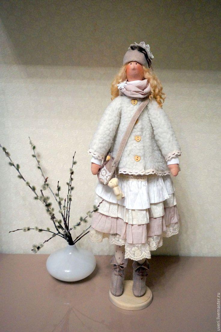 Купить Кукла тильда Дашенька - кукла ручной работы, кукла Тильда, куклы и…