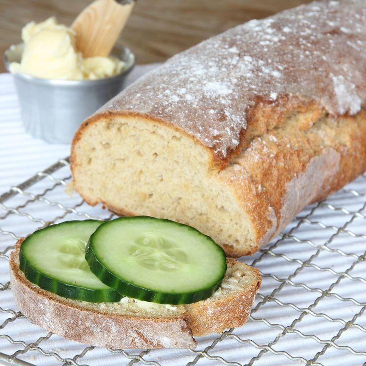 Morning Loaf // Saftig limpa med ett knaprigt skal som jäser direkt i ugnen!