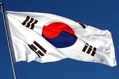 Flaga Korei Południowej *o*