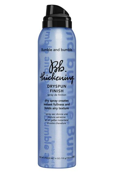 Pump Up the Volume: Bumble and Bumble Thickening Dryspun Finish.  Awesome product for getting some extra volume!!!