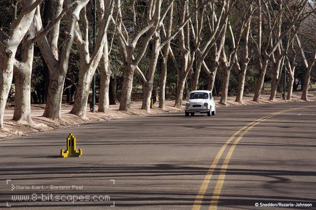 Watch out Fiat 500! Banana Peel!
