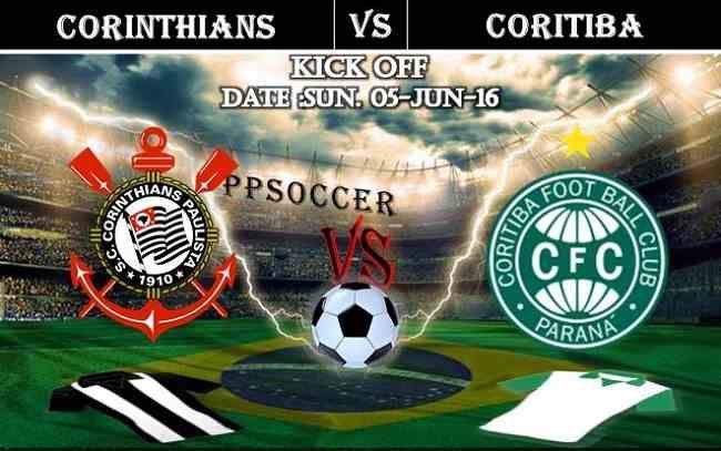 Corinthians vs Coritiba 05.06.2016 Free Soccer Predictions, head to head, preview, predictions score, predictions under/over Brazil: SERIE A
