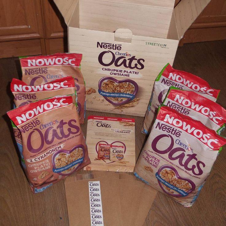 Pyszne i zdrowe płatki owsiane nie tylko na śniadanie :)  #CheeriosOats #ChrupkiePlatkiOwsiane #Streetcom #owsiane #Nestle #płatkiowsiane #cynamon https://www.instagram.com/p/8-tlMSvzw-/