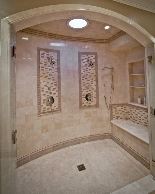 Dream shower one of these days pinterest for How to build a wheelchair accessible shower