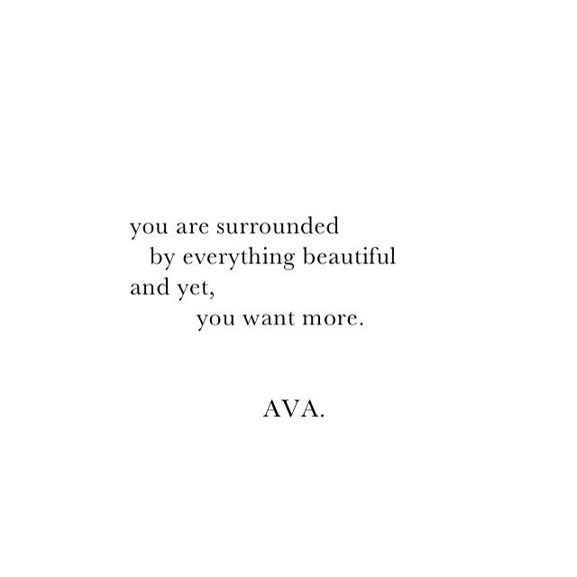 AVA. instagram: vav.ava #poetry #quotes