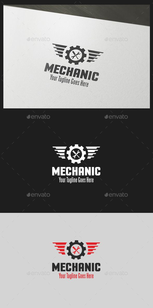 Mechanic  - Logo Design Template Vector #logotype Download it here: http://graphicriver.net/item/mechanic-logo-template/10805407?s_rank=846?ref=nexion