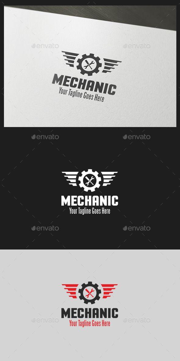 Mechanic  - Logo Design Template Vector #logotype Download it here: http://graphicriver.net/item/mechanic-logo-template/10805407?s_rank=846?ref=nexion