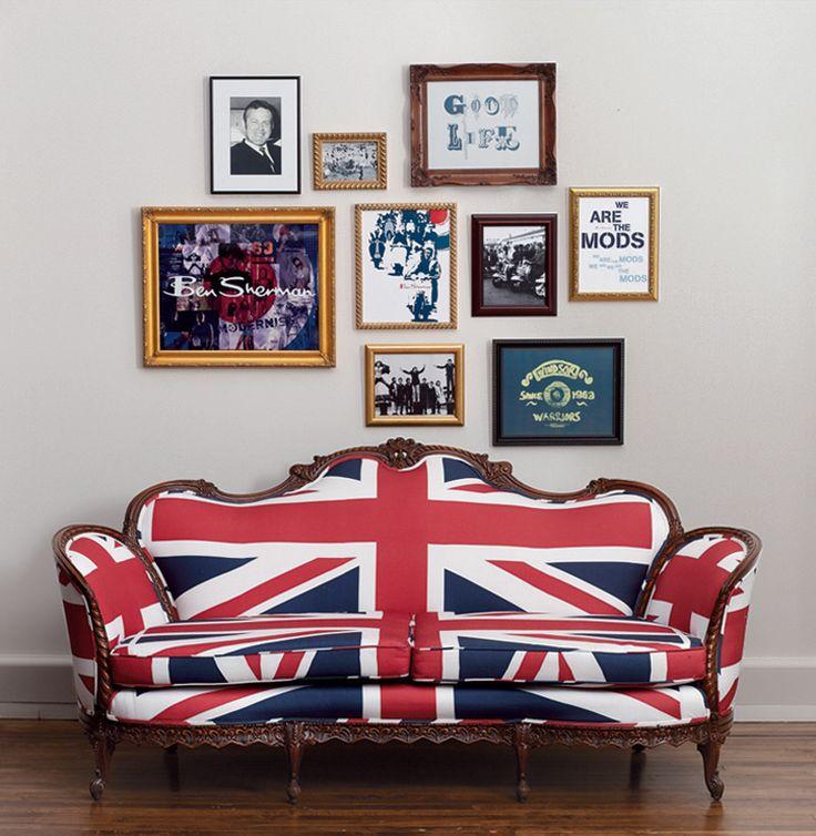 Union Jack sofa | domino.com