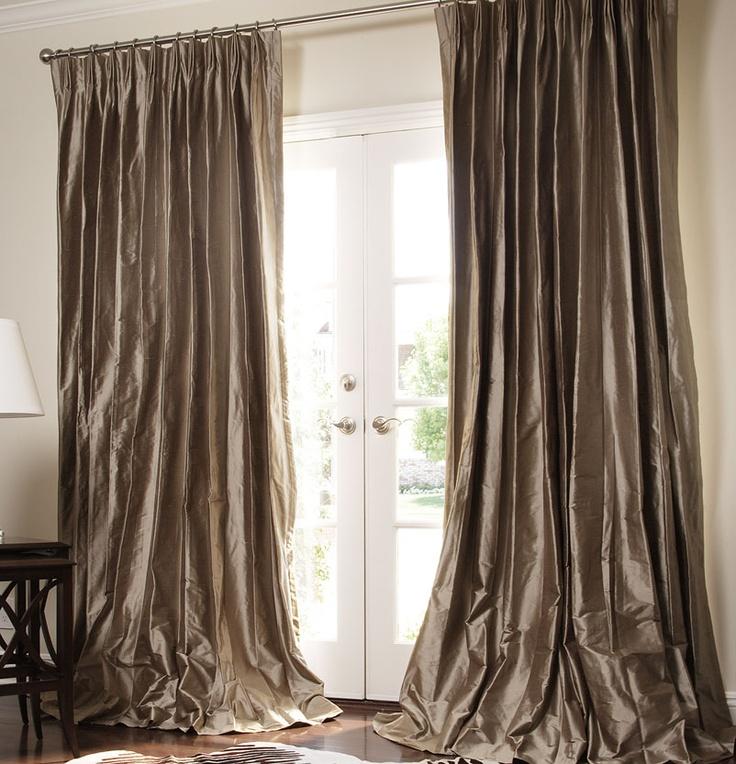 20 best Dupioni Silk Custom Drapes, Curtains and Roman ...