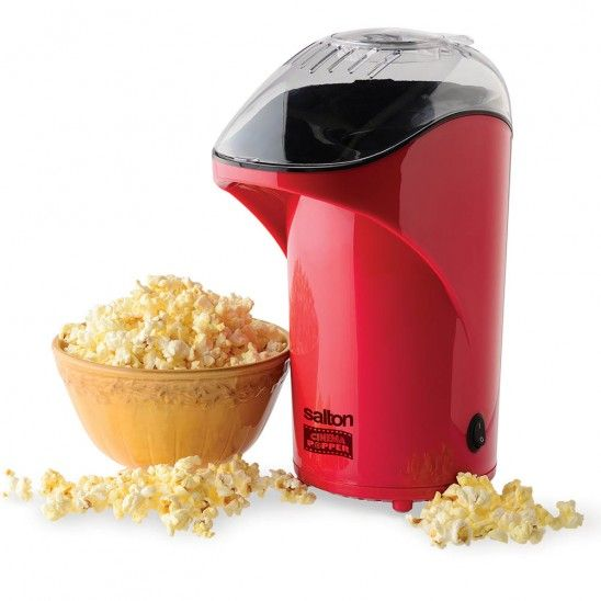 Cinema Popcorn Maker - no oil required making it a healthier choice!