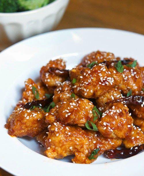 General Tso's chicken, pui