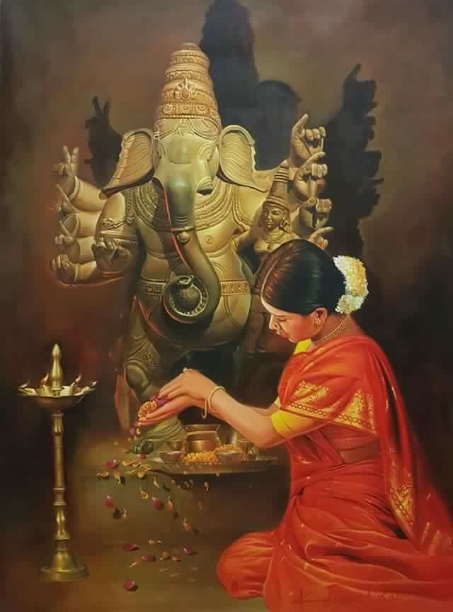 Painting:kamal rao.