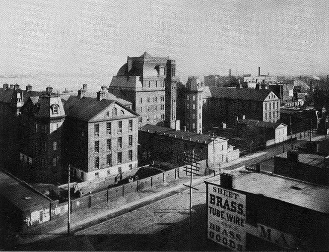 Bellevue Hospital, New York City, 1885.