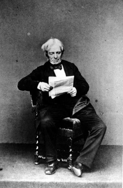 Michael Faraday reads.