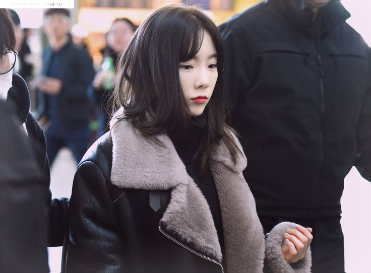 180112 Taeyeon / Incheon Airport
