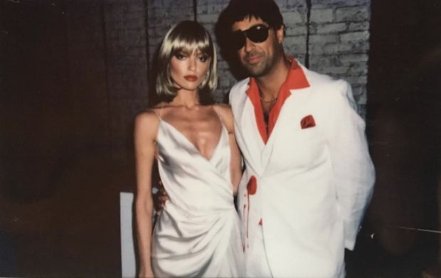 Martha Hunt and Jason McDonald, Elvira Hancock and Tony Montana