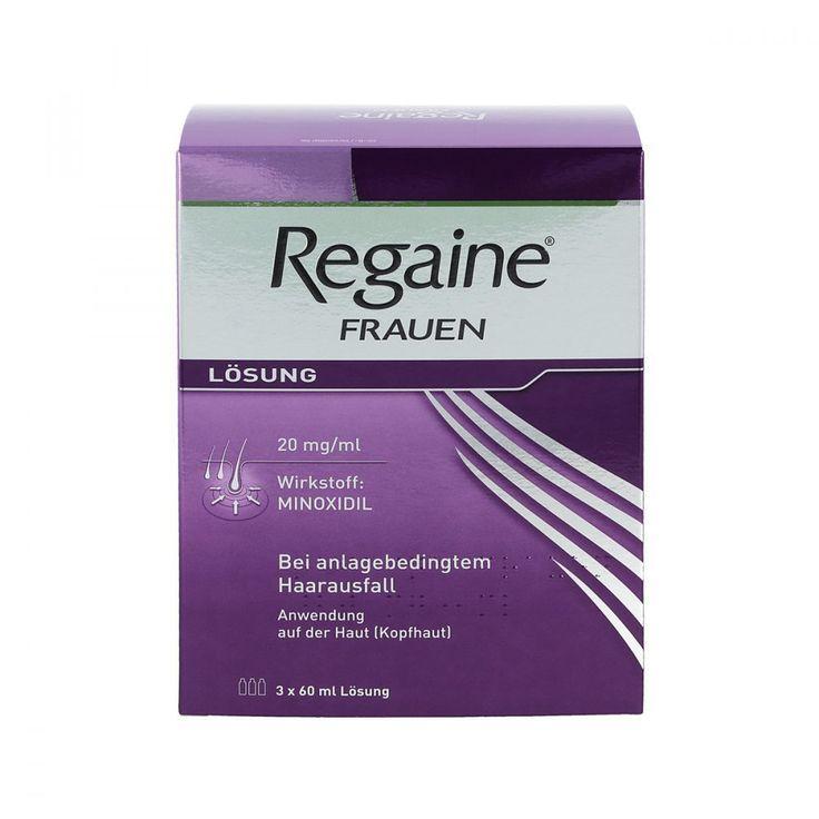 Regaine Minoxidil 2% Frauen  (3X60 ml)
