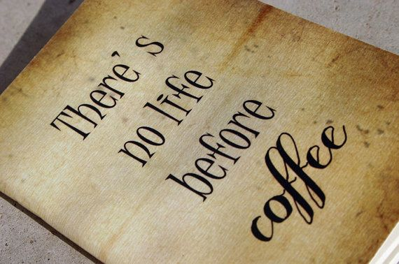 there is no life before coffee  journal grumpy cat by GuBoArtBook,