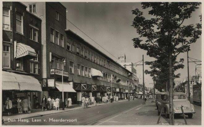 De Gallerij op de Laan van Meerdervoort, 1950.