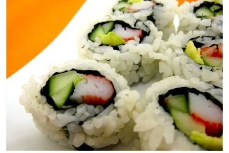 Califonia Roll Crab(8pcs) A Rice Roll filled with Seaweed , Avo, Fresh Crab R38.00 Long Fen Chinese Restaurant 044-690 5570