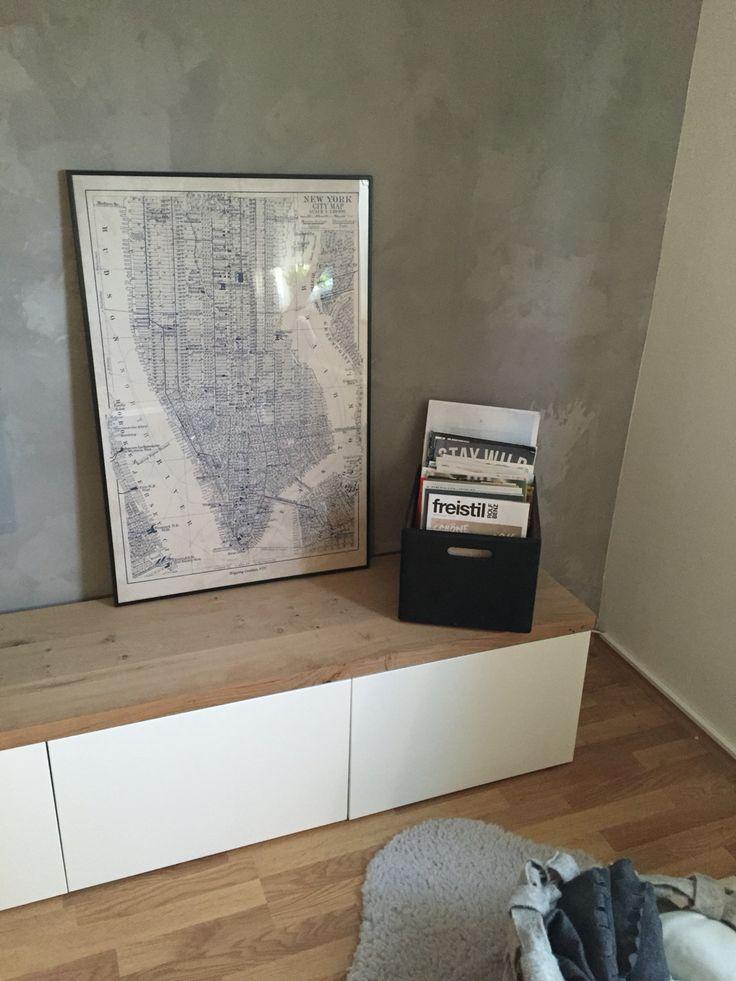 die besten 25 tv wand echtholz ideen auf pinterest holzfu b denfarben badezimmer 3d planer. Black Bedroom Furniture Sets. Home Design Ideas