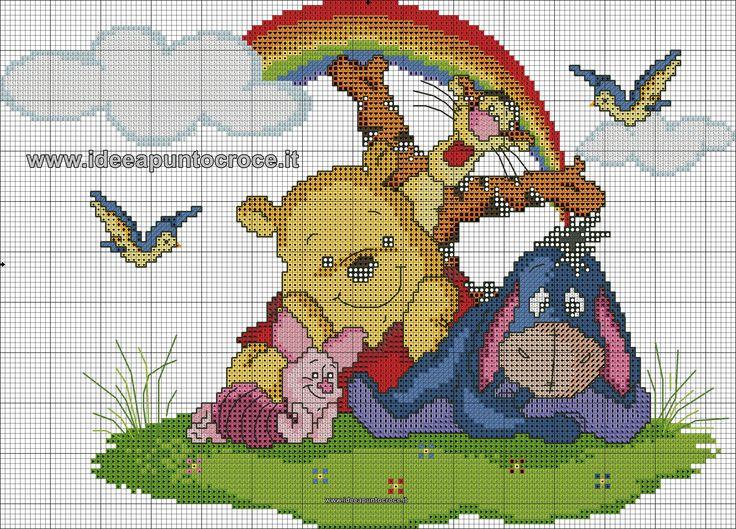Pooh Bear & friends 1 of 2