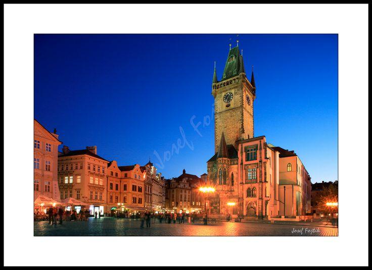Fotoobraz - Staroměstská radnice na Staroměstském náměstí, Praha, Česká republika. Foto: Josef Fojtík - www.fotoobrazarna.cz - https://www.facebook.com/Fotoobrazarna.cz?ref=hl