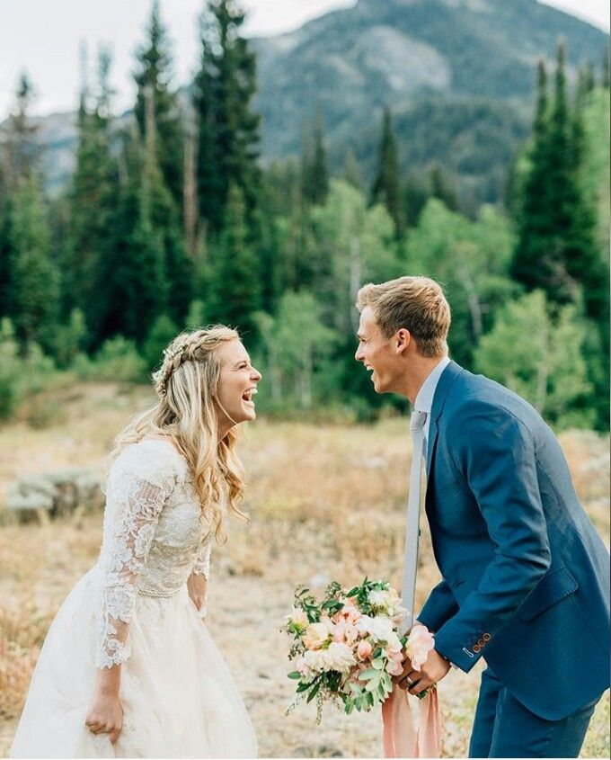happiness | wedding day | photography | bride and groom | candid | outdoors | joy | soft colors