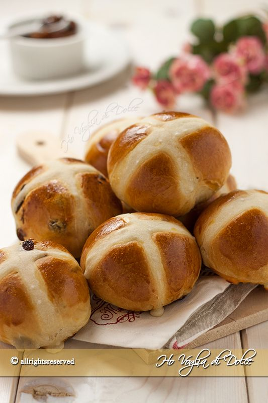Hot-cross-buns-(-panini-dolci-di-Pasqua)