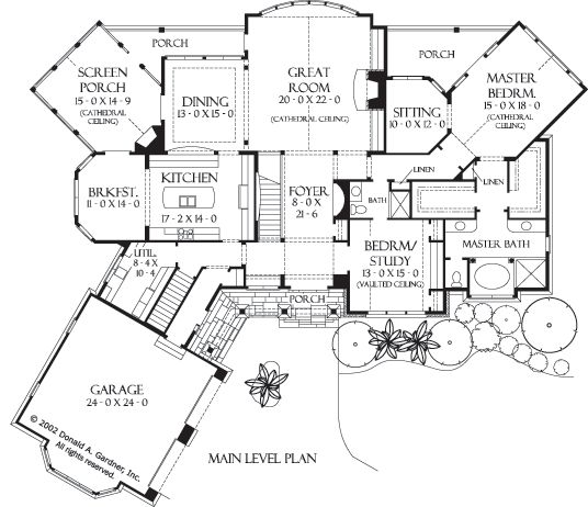39 best house plans images on pinterest house floor plans, home Four Bedroom Cottage House Plans eplans craftsman house plan charming craftsman 4547 square feet and 4 bedrooms from eplans house plan code four bedroom cottage house plans