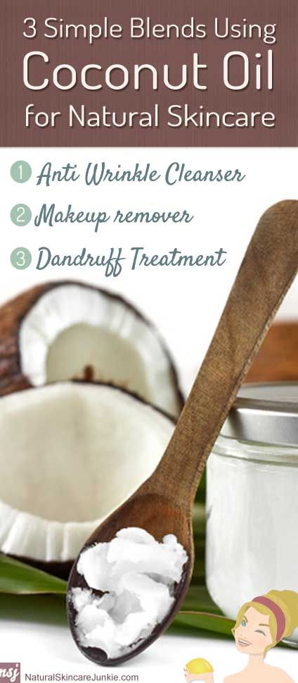 Simple Ways To Use Coconut Oil For Skin And Hair Care Special Thanks to www.naturalskincarejunkie.com!!