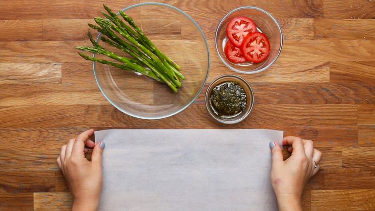 Buy the Tasty Cookbook here: http://bzfd.it/2fpfeu5 Here is what you'll need! Parchment-Baked Chicken 4 Ways Serves 1 TOMATO PESTO CHICKEN INGREDIENTS 12x18 ...